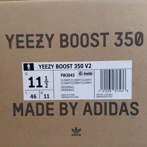 Cloud White Adidas Yeezy 350 V2